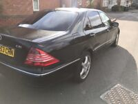 2004 MERCEDES BENZ S CLASS S320D 3.2 TURBO DIESEL AUTO FULLY LOADED CAT C DRIVES FAULTLESS PX SWAPS