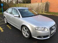 2007 AUDI A4 TDI S LINE WITH SAT NAV,ONE OWNER IN VERY GOOD CONDITION