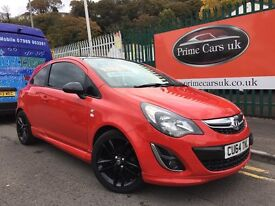 2014 64 Vauxhall Corsa 1.2 i 16v Limited Edition 3 door 5 Speed Manual Petrol