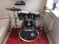 Tama Superstar 5 Piece Drum Kit with Sabian Cymbals