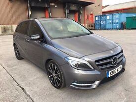 Mercedes-Benz B Class 1.8 B180 CDI BlueEFFICIENCY Sport 7G-DCT 5dr LOW MILES+ECO+CRUISE+CAMERA