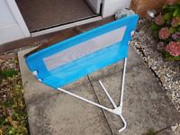 Tomy The First Years Universal Bed Rail - Blue - Bed Guard - Great Condition