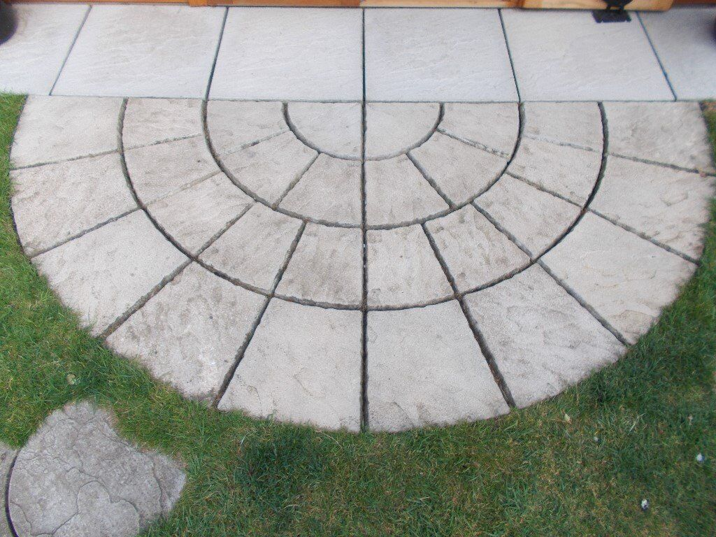 Semi Circle Of Paving Slabs In Kings Lynn Norfolk Gumtree