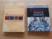 Anatomy/neuroanatomy textbooks