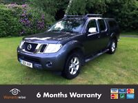2011 Nissan Navara Tekna 2.5 DCI Crew Cab - 6 Months Warranty - NO VAT