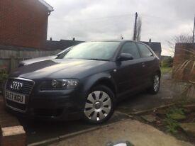Audi A3 Grey 57 plate