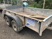 Ifor Williams and indespension plant trailers