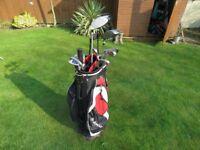 golf clubs Fazer FP 5 with Dunlop bag