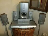 DVD CD cinema system