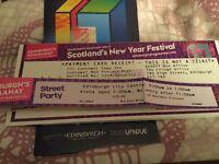 Edinburgh Hogmanay Street Party.