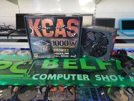 Aerocool 1000 watt KCAS-1000M Hybrid Modular PSU/Power Supply