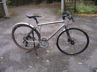 Specialized Sirrus Pro Sports Hybrid with carbon forks and seat post. 54cm frame (medium)