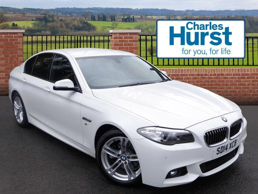 bmw 5 series 520d m sport white 2014 04 19 in lisburn county antrim gumtree. Black Bedroom Furniture Sets. Home Design Ideas