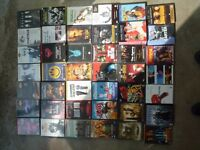 Collection of 163 Cult, Art House & Action DVD's – Watched once perfect condition– BARGAIN