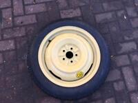Toyota Prius spare wheel
