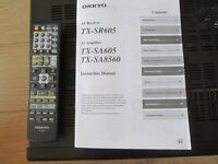 onkyo amplifier with remote control