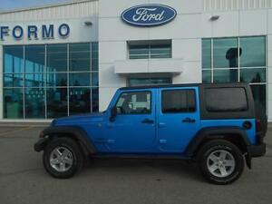 2014 Jeep Wrangler SPORT UNLIMITED 4X4