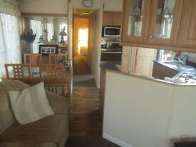 a 38 x 12 Winchester Willerby, 2 bed static holiday home in Felixstowe.