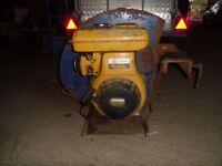 11 hp petrol engine industrial debris, leaf or sawdust vacuum/blower
