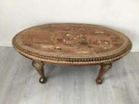 Antique Persian hand crafted coffee table