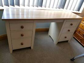Large Oak Dressing Table