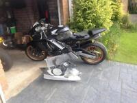 Cbr 600 track bike