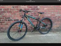 Carrera Hellcat Limited Edition Mens Mountain Bike large 29inch frame £175