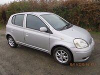 Toyota yaris diesel 5 door only £30.00 tax per year.