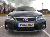 Lexus CT200h, 2011, low mileage 38340. Great condition , clean as none of others