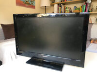"Sharp 24"" LED TV HD with Remote"
