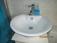 Circular Bathroom sink