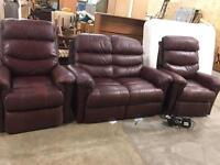 Sofa reclining set