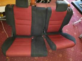 Honda civic type R mk8 fn2 ( rear seats&parcal shelf)