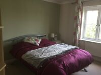 Lovely bright double room with ensuite bathroom.