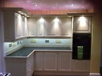 Full kitchen for sale - very large size, excellent condition, cream colour