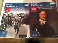 Officially approved AQA History A Level textbook