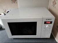 BOSCH Microwave Stainless Steel