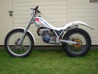 GasGas 327 Trials Air Cooled Mono Shock