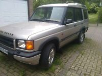 Land Rover discovery td5 for spare or repairs