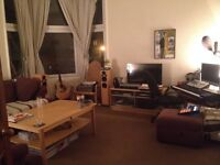 ** AVAILABLE FEB 14th - Large furnished double room in beautiful top floor Shawlands flat **
