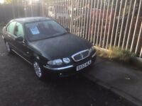 Rover 45 very clean and reliable, cheap car