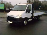Iveco Daily 14 ft alloy dropside body 2013 (62) NEW SHAPE NO VAT 115.000 MILES