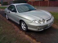 hyundai coupe 1.6cc se black leather 5 speed fsh 75000 miles petrol cheap bargain car 11 months mot