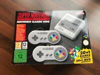 Nintendo classic mini SNES 240 games New