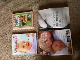 Pregnancy books nd weening books