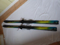Fischer S-Bound 98 Waxless Skis 179cm with bindings