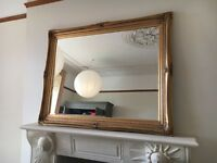Beautiful traditional ornate mirror