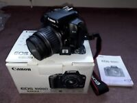 Canon 1000d DSLR with 18-55 Canon Lens + spare Battery +++MINT CONDITION+++ 1400 shutter count!