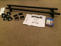 Car roof bars and foot pack for sale - Excellent condition. Boxed