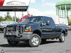 2007 Ford F-250  SuperCab Long Bed 4WD